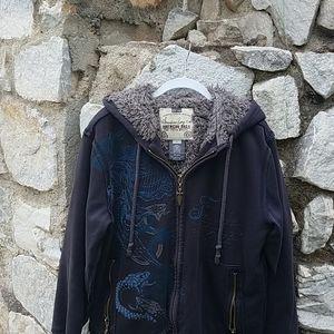 American Rag medium zip up jacket